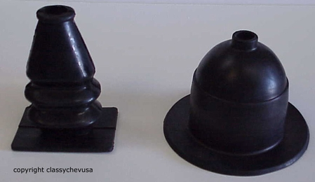 1928-1931 Ford Model A Rubber Gear Shift & Emergency Boots