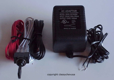 Automotive 12 Volt Plug and Switch Test Device