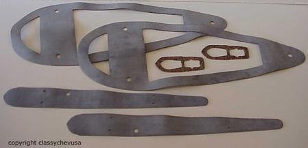 1941 Chevrolet Truck Headlight - Park Light Gasket Kit - 6 Pieces
