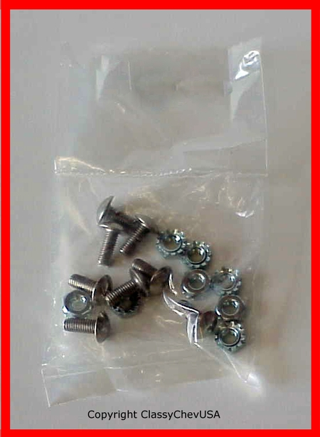1941-1946 Chevrolet Truck Grill Screw Kit - 8 Pieces - #1088K