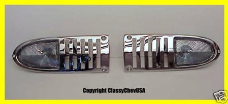 1951 Chevrolet Car Park Light Assemblies - PAIR
