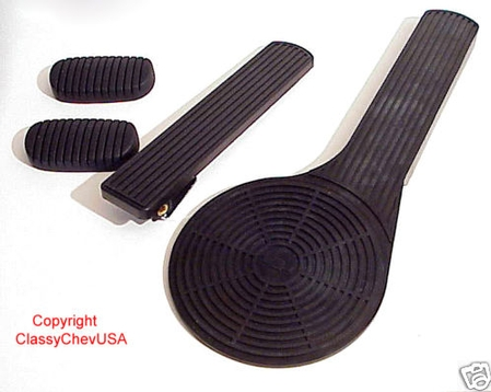 1949-1952 Chevrolet Car DELUXE Accelerator Pedal Kit - 4 PC