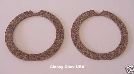 1939 Chevrolet Car Tail Light Cork Gaskets - PAIR