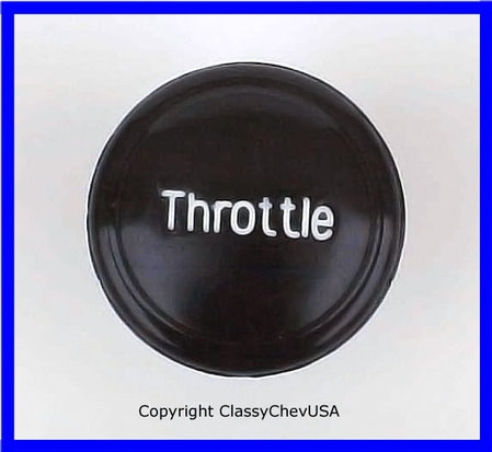 1936-39 Chevrolet Truck Throttle Knob