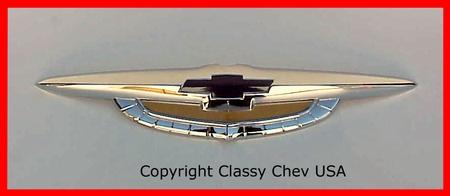 1950 Chevrolet Car Front Hood emblem badge