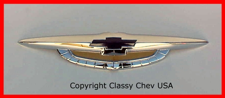 1950 Chevrolet Car Front Hood emblem badge