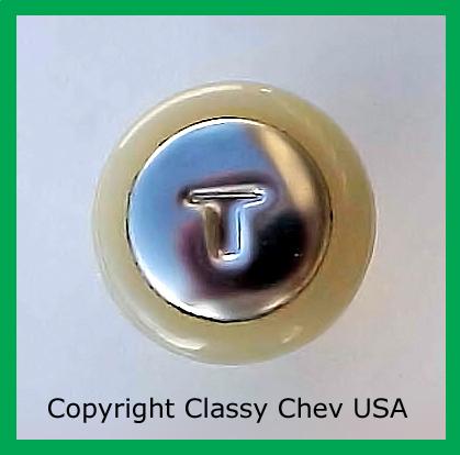 1949 Chevrolet Car Throttle Knob- 1 PC