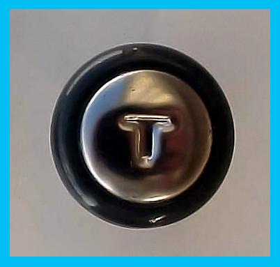 1950 Chevrolet Car Throttle Knob