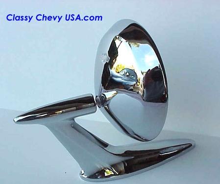 1958 Chevrolet Car Rearview Mirror 1 Piece