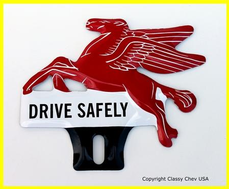 Pegasus HORSE License Plate Topper