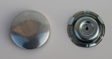 1941 1942 1946 Chevrolet GMC Truck Horn Button Assembly 2 PC