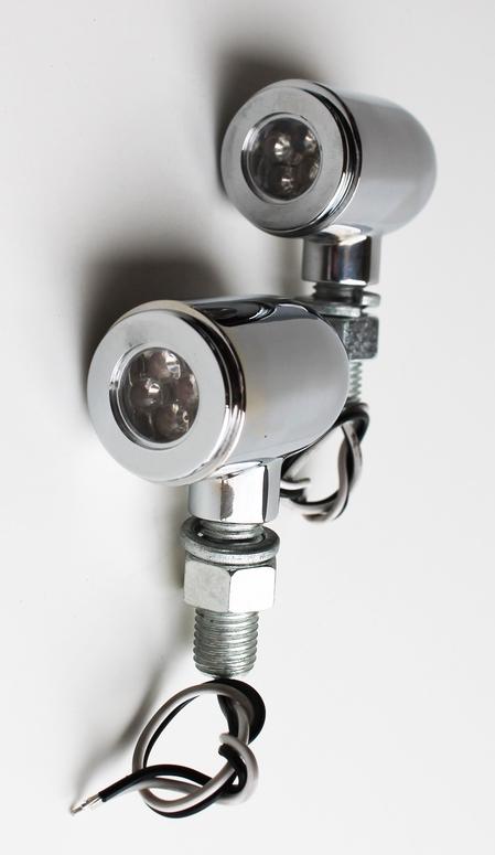 LED Marker Lights WHITE PAIR