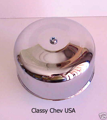 "Chrome Bullet AIR CLEANER NEW BEE HIVE 2 bbl 2 5/8"" 1p"