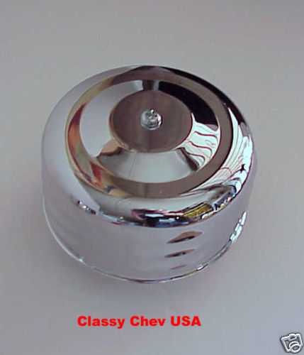 "Chrome Bullet AIR CLEANER NEW HIVE 1 bbl 2 5/8"" 1p LV"