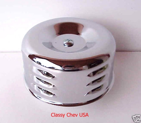 Chrome STD AIR CLEANER NEW BEE HIVE 1 bbl 2 5/16 1p LV