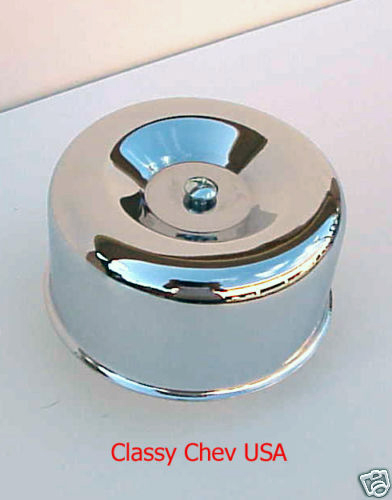 "Chrome STD AIR CLEANER NEW BEE HIVE 1 bbl 2 5/16"" 1p"