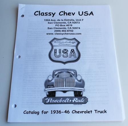1936-1946 ClassyChevUSA Catalog - Chevrolet Truck