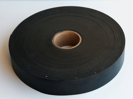 Universal Windshield Frame Rubber Glass Setting Tape 1.5 by .045 - BUY by the FOOT