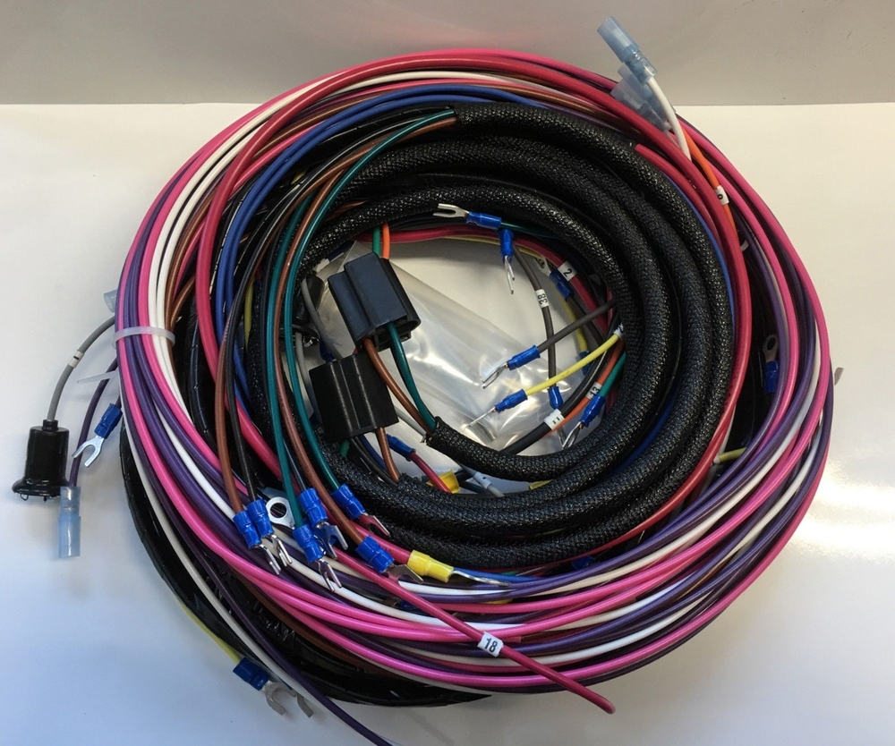 53 54 Chevy Chevrolet truck wiring harness 6 or 12 volt ...  Chevy Truck Wiring Harness on