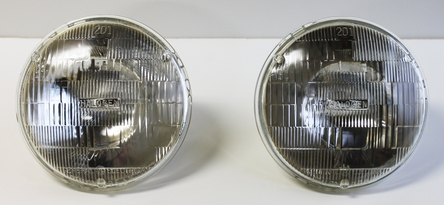 1940-57 Chevrolet Halogen Headlights - Pair - 7""