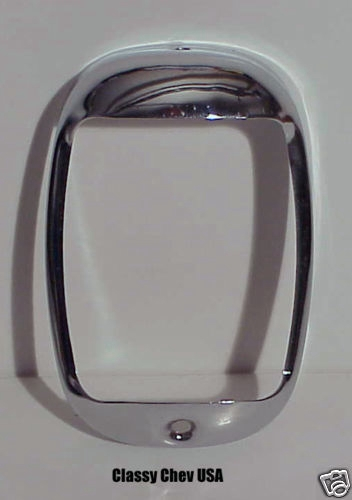 1940-1953 Chevrolet Truck Chrome Tail Light Bezel