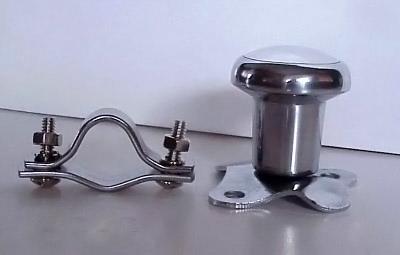 "Brodie Necker Knob Rat Rod Classic Aluminum Heavy Duty - 2"""