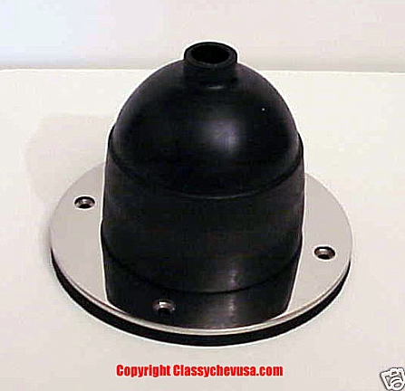 1928-1931 Model A Ford Rubber Gear Shift Boot & Bezel