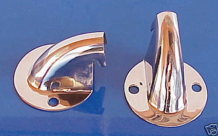 Model A Ford Truck Wire Covers Stainless Steel - PAIR