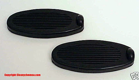 1928-1931 Ford Model A Brake & Clutch Pedal Pads - Pair