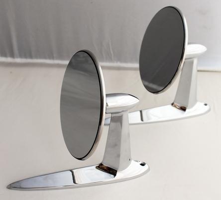 1955-1957 Chevrolet Bel Air Door Mirrors - 2 Pieces