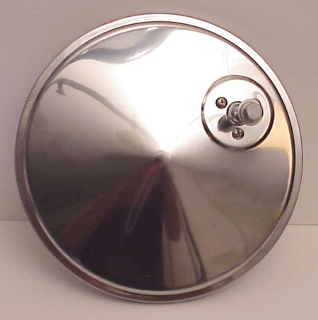 "8"" Convex TRUCK Mirror Stainless Steel Off Set Mount"