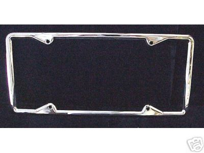 1929-39 License Plate Frame