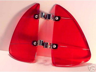 1938-1948 RED Breezies for Chevy, Ford, Chrysler