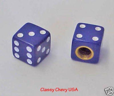 "Purple Valve Stem Covers 5/8 "" - Set of 2"