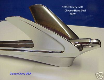 1950 Chevrolet Bird Hood Ornament