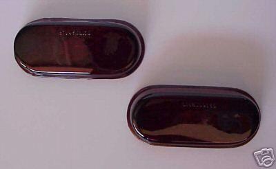 1940 Chevrolet Car Red Glass Tail Light Lense