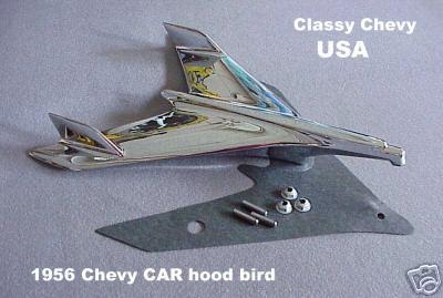 1956 Chevrolet Bel Air Bird Hood Ornament