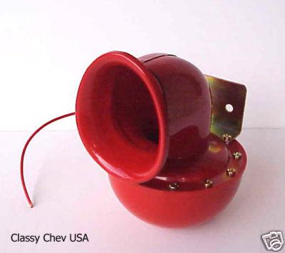 Bull Horn 12 Volt Red