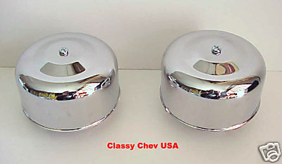 Chrome Bullet Bee Hive Air Cleaner  - 1 BBL 2 5/16 - 2 Pieces