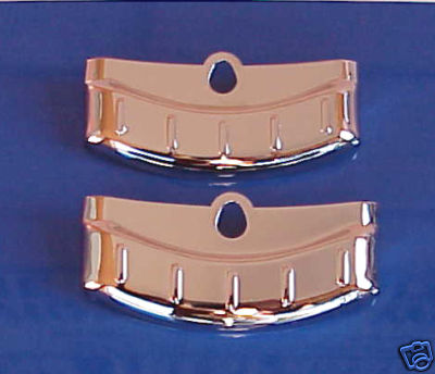 1956 Ford Fairlane Exhaust Deflectors - Pair