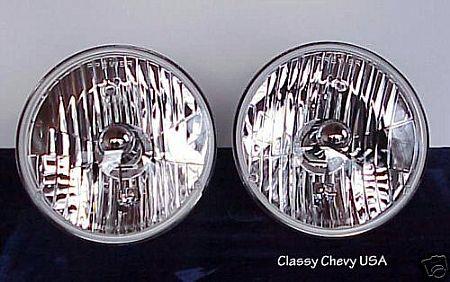 1941-1953 Chevrolet Truck Halogen Headlights - 12 Volt - Pair
