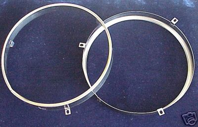 "1940-72 7"" Car and Truck Headlight Sealed Beam Rings - #204"