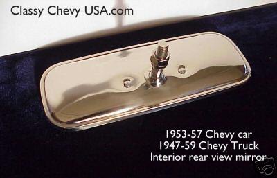 1947-59 Chevrolet GMC Truck Interior Rear View Mirror