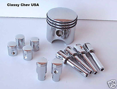 Piston 11 Piece Set - Shift Knob, Door Locks, Valve Stems, RK