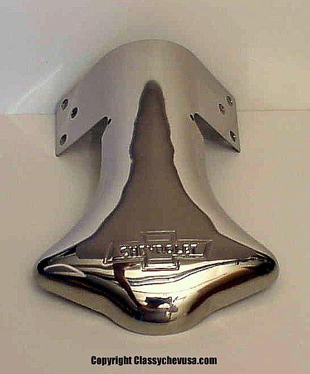 Chevrolet Bowtie Exhaust Deflector Tip - SINGLE