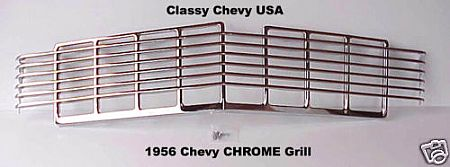 1956 Chevrolet Chrome Grill