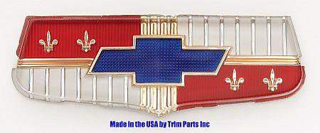 1953 Chevy Trunk Plastic Emblem - TP1002