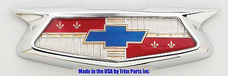 1954 Chevy Trunk Emblem & Bezel Assembly