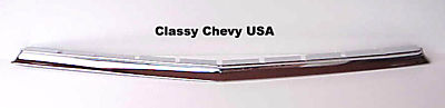 1956 Chevrolet Car Chrome Lower Grill Molding