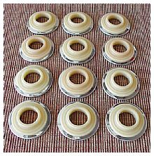 1946-1948 Chevrolet Car Escutcheons - 12 Pieces